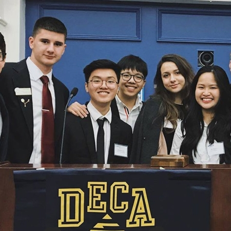 Students win first place in Virtual Business Challenge
