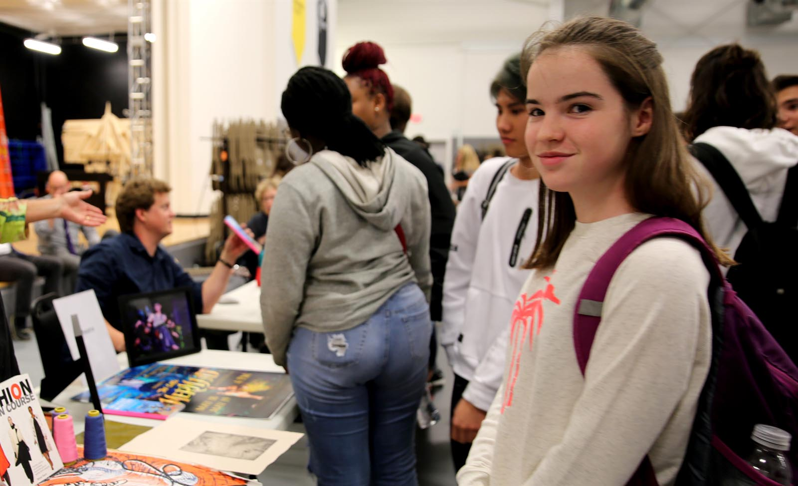 From rock-climbing to fashion: Students attend Activities Fair